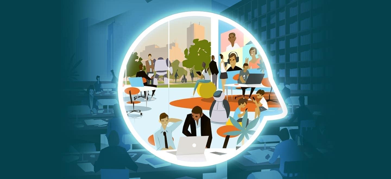 Отдалечената работа и професиите на бъдещето