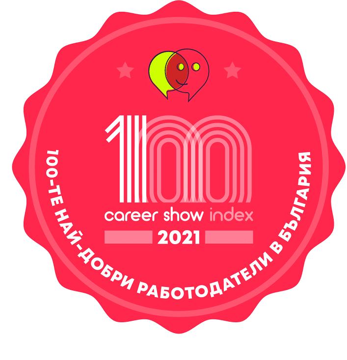 Обявиха Топ 100 на най-добрите работодатели в България за 2021